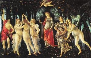 Allegory of Spring Sandro Botticelli