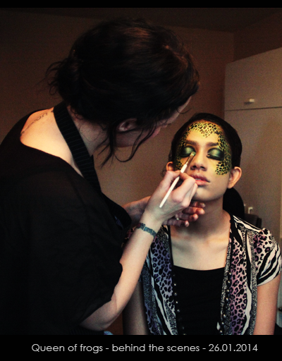 Queen of frogs_behind_the_Scenes_Silvena_photography