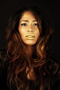 Gold Makeup Fashion