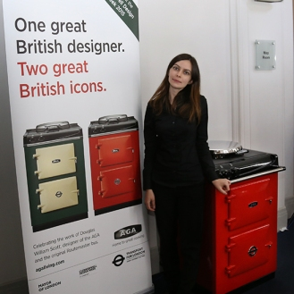 Me with the red TFL AGA at the AGA Festival in London