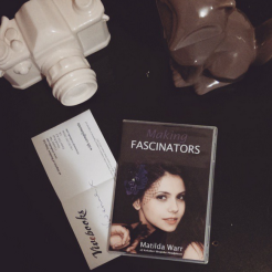 The Making Fascinators book has arrived!