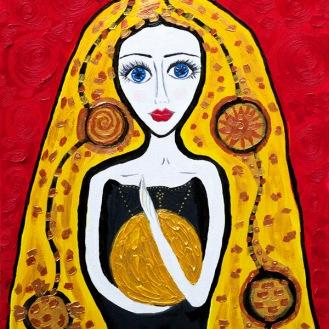 The Golden Girl by Silvena Toncheva