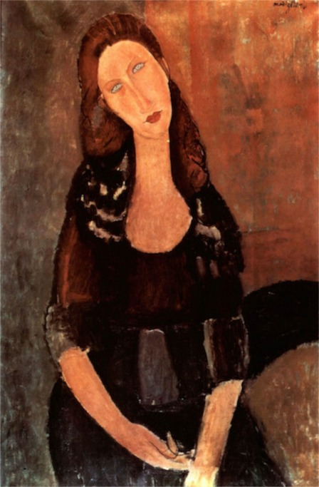 Portrait of Jeanne Hebuterne
